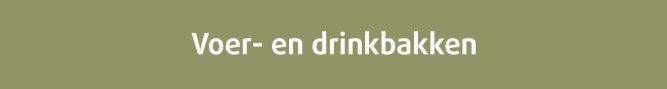 Voer- en drinkbakken